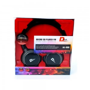 D Tech SD Headphones XC008