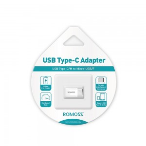 Romoss Micro USB To Type C Connector