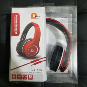 D Tech Head Phone DJ-555